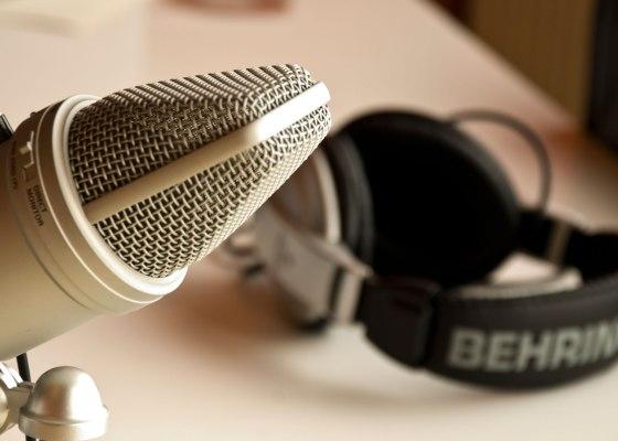 Podcasting Photo by Patrick Breitenbach