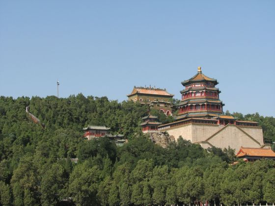 Summer Palace from Kunming Lake