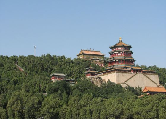 Summer Palace from Kunming Lake